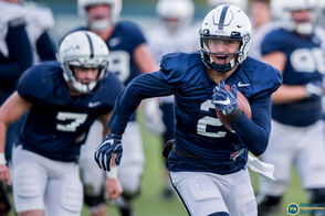 Scenes from Penn State practice as they prepare for Indiana.