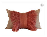 Ostrich feather pillows and heavenly coasters: 5 Met Gala-inspired decor items
