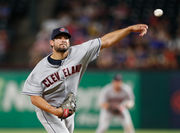 Cleveland Indians blow late lead, rally for 9-8 win against Texas Rangers in 11