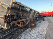 Train cars derail in Uptown New Orleans