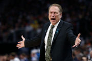 Michigan State fans shocked at shooting woes in crushing upset to Syracuse
