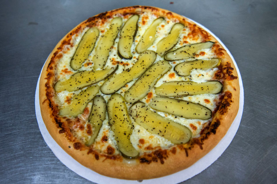48117c6d4 Pickle pizza is a new trend and here's where to find it in Michigan |  MLive.com