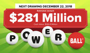 Powerball lottery: Did you win Saturday's $281M drawing? Live results (12/22/2018)