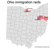 Salem, Sandusky, other Ohio sites of immigration raids: Donald Trump numbers and demographics