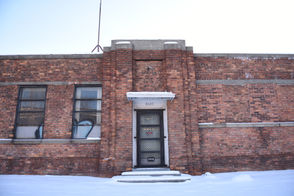 The former warehouse at 8640 Grinnell in Detroit that was used by body broker Arthur Rathburn.