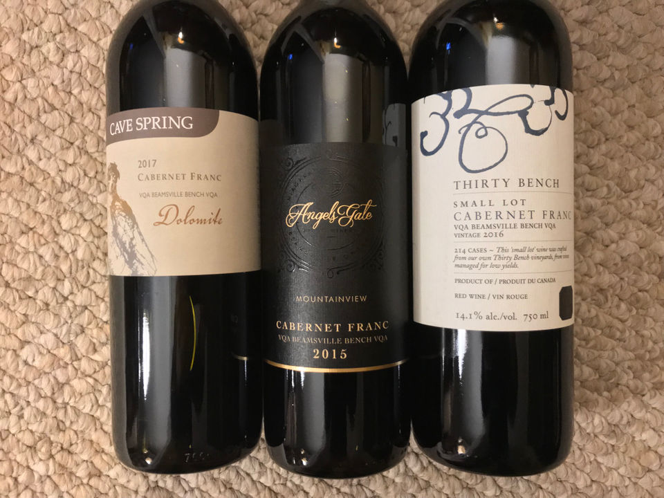 Wine Press: Canadian Cabernet Franc Wines Soar To Stunning Heights