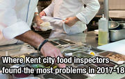 20 Kent restaurants with the most food inspection violations in 2017-18