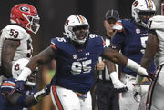 Dontavius Russell remains a pillar of Auburn defense at nose tackle