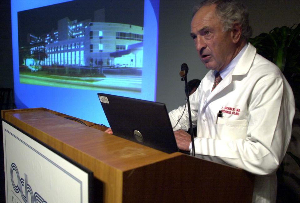 Dr. John Ochsner, who pioneered heart surgery in Louisiana, dies at 91 thumbnail