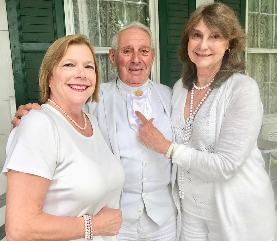 Scenes from George Burke's White Party a signature event at Seguine Mansion
