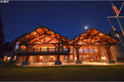On the market: Rustic to $10 million 'rusticratic' Oregon log homes (photos)