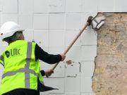 Sugar Shack strip club demolition begins with sledgehammers, excavator
