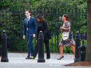 Kim Kardashian West at White House to discuss pardon for drug offender