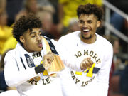You may have fallen asleep, but Michigan held off Montana in the NCAA Tournament last night