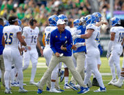 Surprise: Brent Brennan's San Jose State Spartans put up a fight against Oregon Ducks