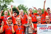 'Heck of a pitcher' leads Escanaba to first softball state title