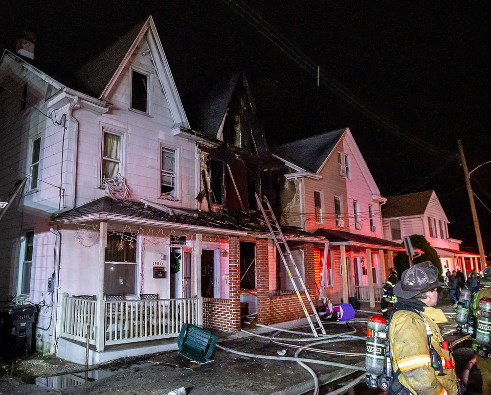House Fire on Berryhill Street in Harrisburg