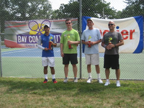 Champions were crowned in singles and doubles flights at the fourth annual event