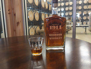 The 1911 Bourbon Whiskey is the orchard's first alcohol product not made from apples.