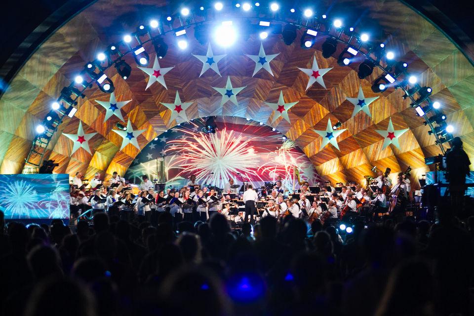 2018 Boston Pops Fireworks Spectacular (photos, video