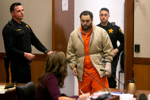 """The suspect, David Lamar V, was also injured in the crash and later signed himself out of a hospital. Police charged and arrested him, and he was later sent to the Mercer County Correction Center. On Tuesday, Superior Court Judge Anthony Massi decided he needed time to decide whether to detain Lamar, pending his trial. Lamar was allegedly trying to pass other vehicles when he crossed into oncoming traffic and slammed into the car with the six college students, Geurds said. Geurds claimed Lamar had spent the hours before the crash drinking at Landmark Americana, a bar on TCNJ's campus.She alleges the bar's security footage captures him drinking heavily for nearly three hours before getting behind the wheel. """"You see him being served beers, you see him drinking something called a fishbowl,"""" Geurds said. """"And right before he left the bar at 1:53 a.m., you see him stumbling while trying to light a cigarette outside."""" Tests on his blood showed a .239 blood-alcohol percentage. The state's legal limit is .08."""
