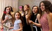 Unicorn rainbow revelry at Notre Dame Academy Parent/Daughter Dance