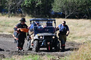 Man hurt logging trees rescued aboard ATV, flown for treatment (PHOTOS)