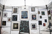 Aesthetics of cell biology showcased at Ann Arbor Art Fair