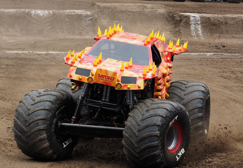14 Monster Jam trucks rumble into MetLife Stadium for 1 day