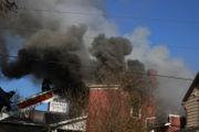WATCH: Kitten saved as fire tears through Nazareth apartment house