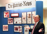 Ray Gover, innovative Patriot-News publisher, adviser and community leader, dies at 90