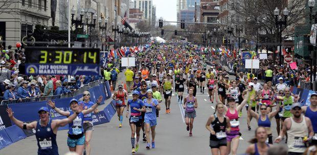 Boston Marathon 2018 Start Times Route Map Masslive Com