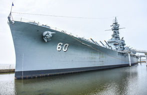 Take a self-guided tour of the World War II-era battleship U.S.S. Alabama, plus submarine U.S.S. Drum and 28 historic aircraft at Battleship Memorial Park in Mobile. Visitors can explore 12 decks of the ship, climb inside gun turrets, get locked in the brig and more. The museum is open from 8 a.m. to 5 p.m. and is located off the Mobile Bay Causeway.