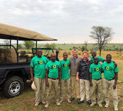 Elvis Duran & Staten Island Zoo's Alex Carr share photos from their African safari