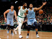 Aron Baynes' perfect fit, Marcus Smart's shooting, and 10 things we learned from the Boston Celtics vs. Memphis Grizzlies