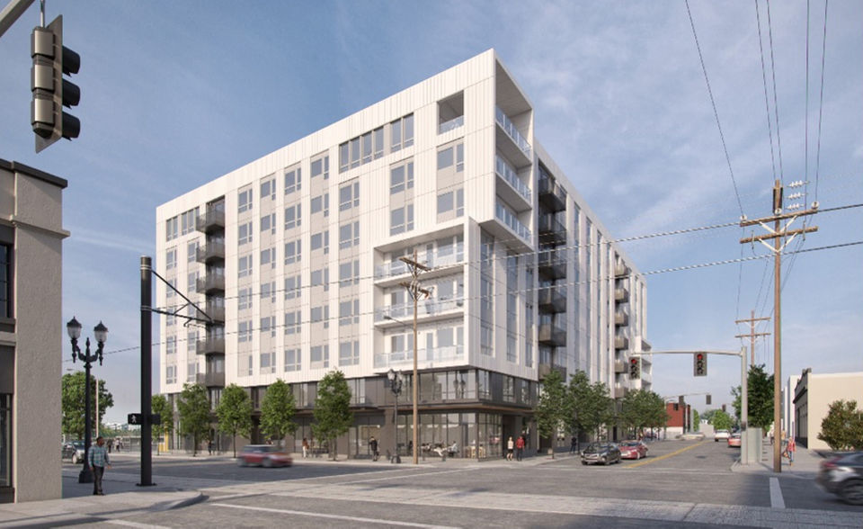 Design approved for 170-apartment building in Portland's Central Eastside