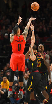 Cavaliers avoid blowout but lose in Portland, 113-105