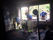 Springfield Arson & Bomb Squad continues to investigate blaze that displaced 24 from Mulberry Street condominium complex