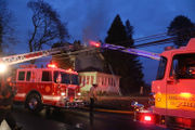 Landlord treated, firefighter hurt in Palmer apartment building fire (PHOTOS)