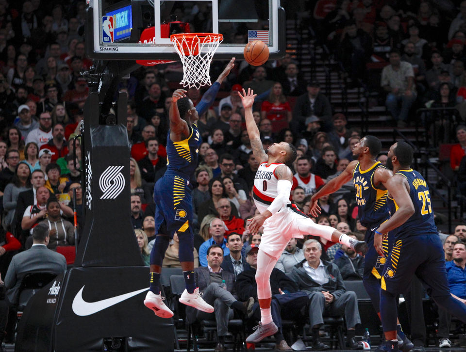 Portland Trail Blazers vs Indiana Pacers: Jan. 18, 2017