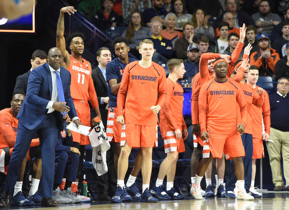 Syracuse Basketball Vs Clemson 10 Things To Watch For Syracuse Com