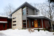 $1.4M modern house on nature preserve breaks Saugatuck's quaint mold