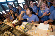 Distinguished Young Woman Megan Bizzell wins annual oyster-eating contest