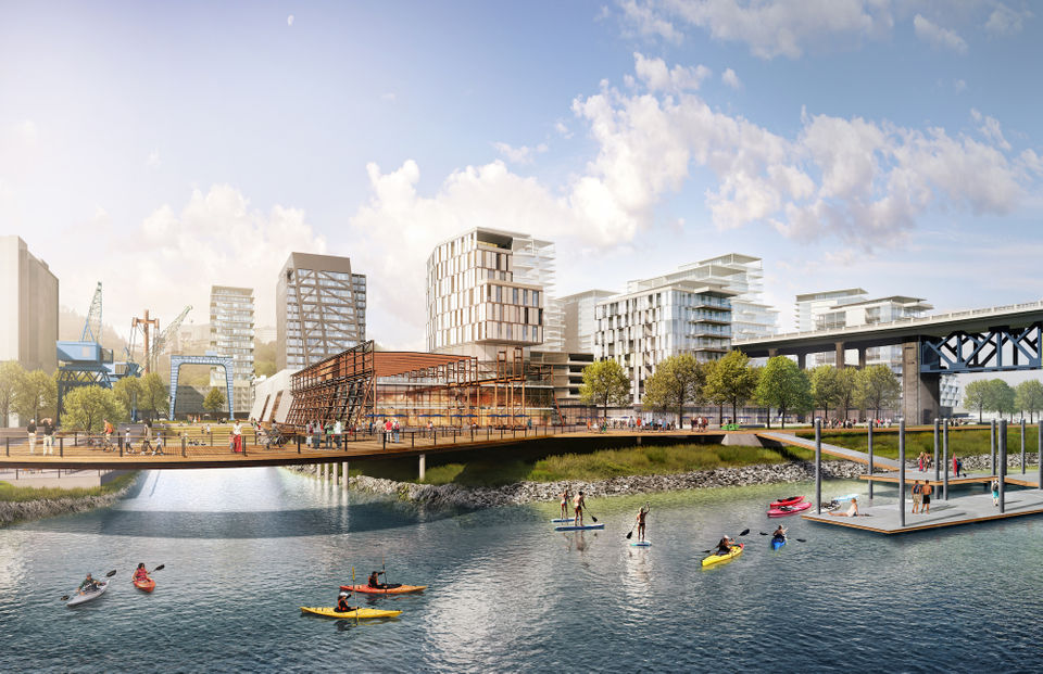 millions in infrastructure costs scuttled zidell yards development