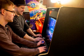 Liquor. Food. Gaming. retro video game bar opens Friday, Nov. 16, 2018.