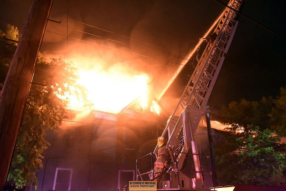 Uptown New Orleans house damaged in three-alarm fire