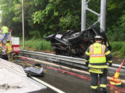 Driver flown to hospital after being trapped in I-80 wreck