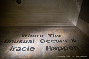 A look inside the rundown site of the former Charity Hospital in downtown New Orleans.