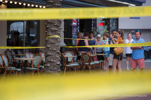 A shooting was reported on Sunday, Sept. 23, 2018, near a Popeye's in the 600 block of Canal Street, according to NOPD.