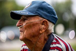 100 year old farmer says hard work is the secret to longevity.